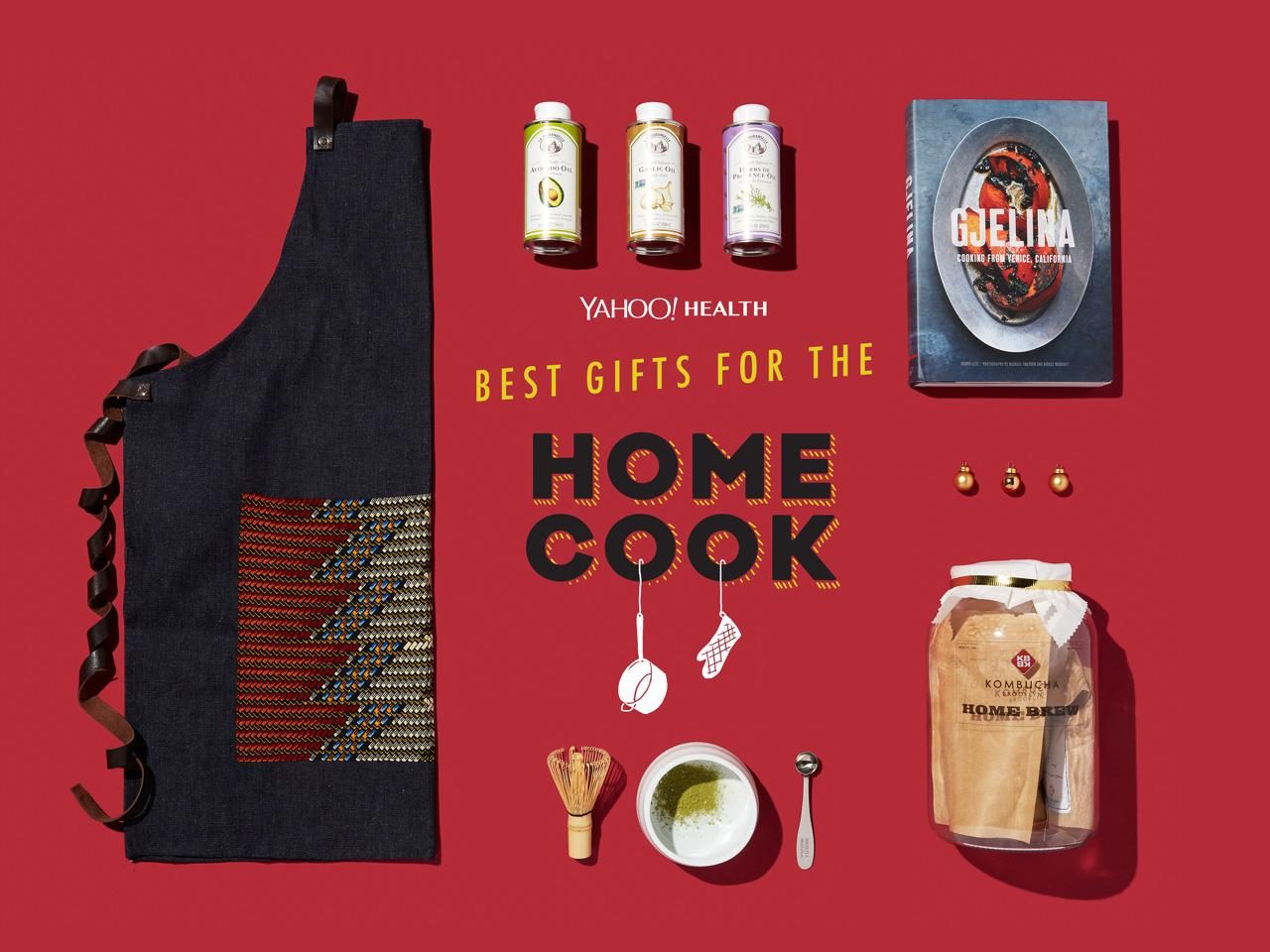 <p>Check out our top gift picks for the healthy foodie (who can never have too many kitchen supplies). <br /></p><p>(Design by Erik Mace / Photo by Jon Paterson for Yahoo Health)<br /></p>