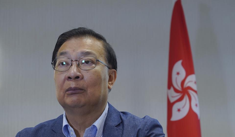 Tam Yiu-chung has suggested opposition filibustering at Legco could warrant disqualification. Photo: AP