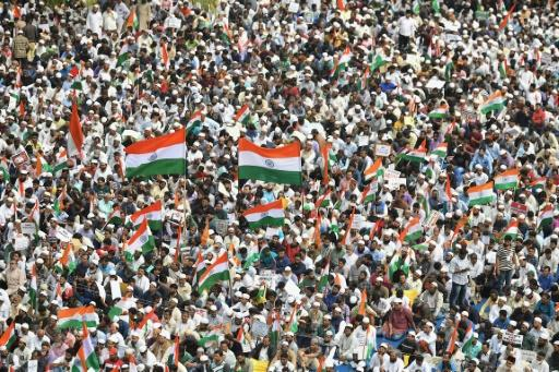 The new citizenship law has sparked two weeks of protests across India