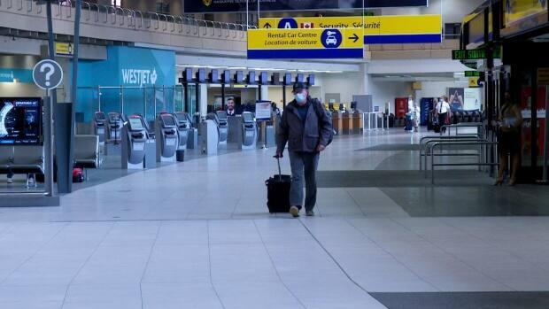 The Calgary Airport Authority had budgeted for a surplus last year but instead it posted a $23-million deficit due to the pandemic.  (Dave Gilson/CBC - image credit)