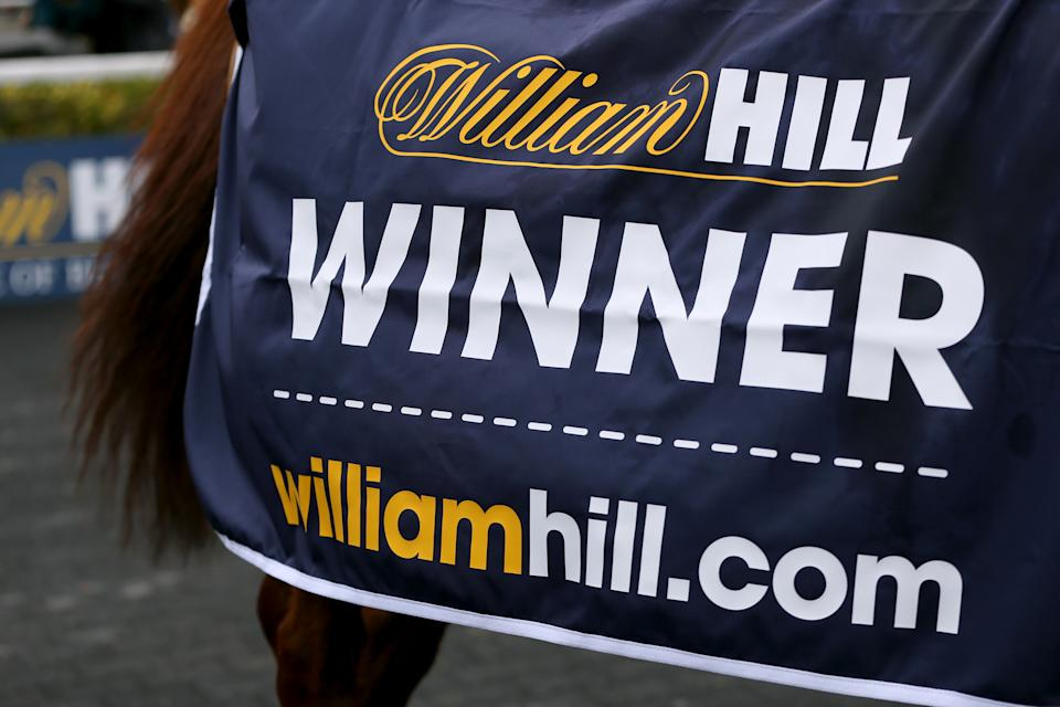 Triolo D'Alene after winning the williamhill.com Chase