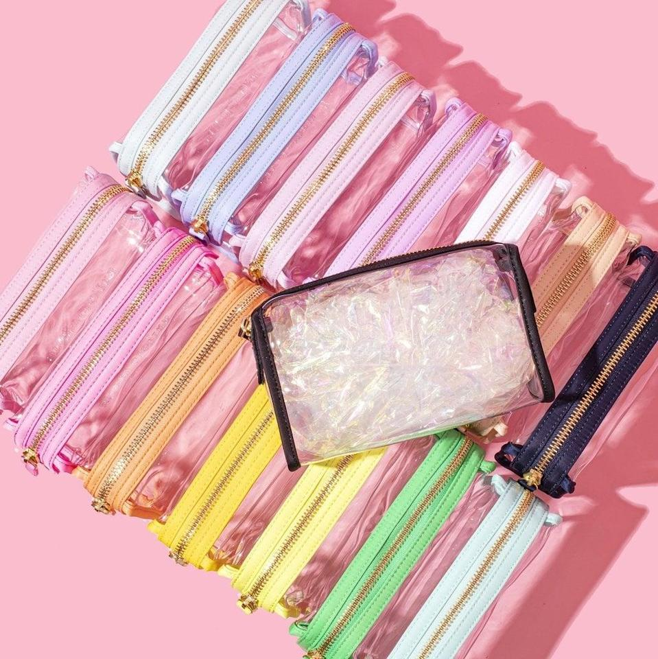 <p>With this clear <span>Stoney Clover Lane Travel Pouch</span> ($34), you can't help but be neat and organized. Store all your essentials in these easy-to-spot bags.</p>