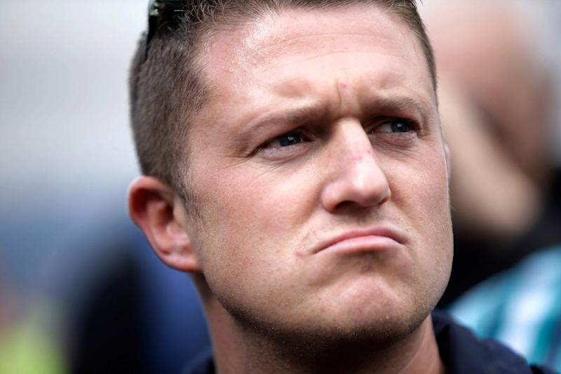 Serving time in prison: Tommy Robinson: Matthew Lloyd/Getty Images