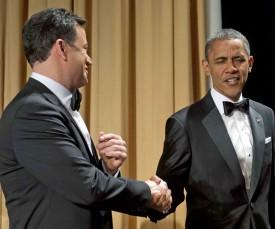 Jimmy Kimmel & President Obama Flatline At White House Correspondents Dinner