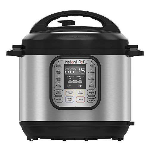 """<p><strong>Instant Pot</strong></p><p>amazon.com</p><p><strong>$89.00</strong></p><p><a href=""""https://www.amazon.com/dp/B00FLYWNYQ?tag=syn-yahoo-20&ascsubtag=%5Bartid%7C10055.g.36366442%5Bsrc%7Cyahoo-us"""" rel=""""nofollow noopener"""" target=""""_blank"""" data-ylk=""""slk:SHOP NOW"""" class=""""link rapid-noclick-resp"""">SHOP NOW</a></p><p>Instant pots have slowly become more and more popular over the years, and with good reason. They create meals in minutes that used to take hours to make. No more panicking when you forget to take something out for dinner. This 7-in-1 appliance acts as an electric pressure cooker, rice cooker, slow cooker, yogurt maker, steamer, sauté pan and food warmer, which makes it a great investment seeing as it can do cook almost any recipe. """"With all the safety features the Instant Pot has, I'm not afraid to use it — hard-boiled eggs, rice, stews, and veggies have all come out fabulous!"""" said one reviewer. </p>"""