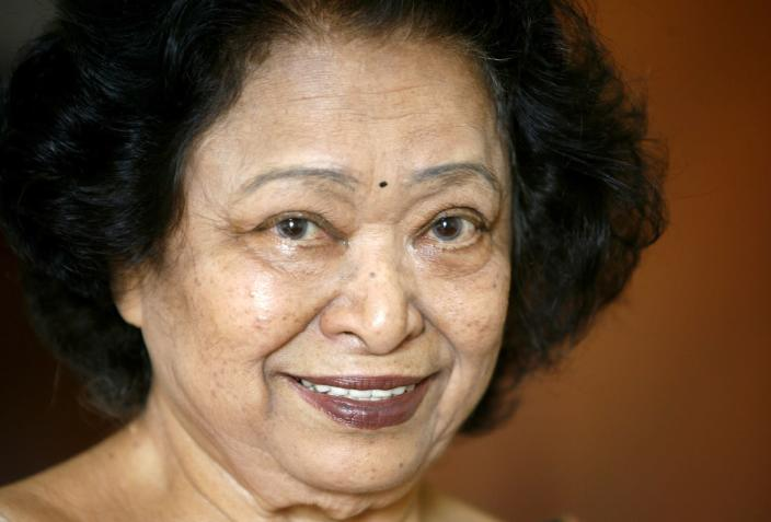 The 'real' Shakuntala Devi (pictured) died in Bengaluru in 2013.