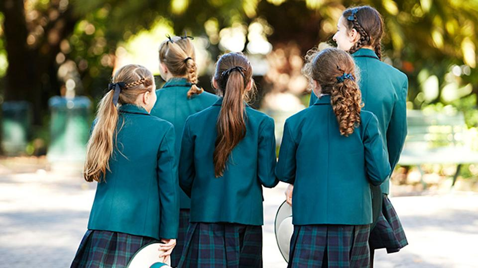 Students at Croydon's Presbyterian Ladies' College are pushing for a new uniform option. Source: Croydon's Presbyterian Ladies' College