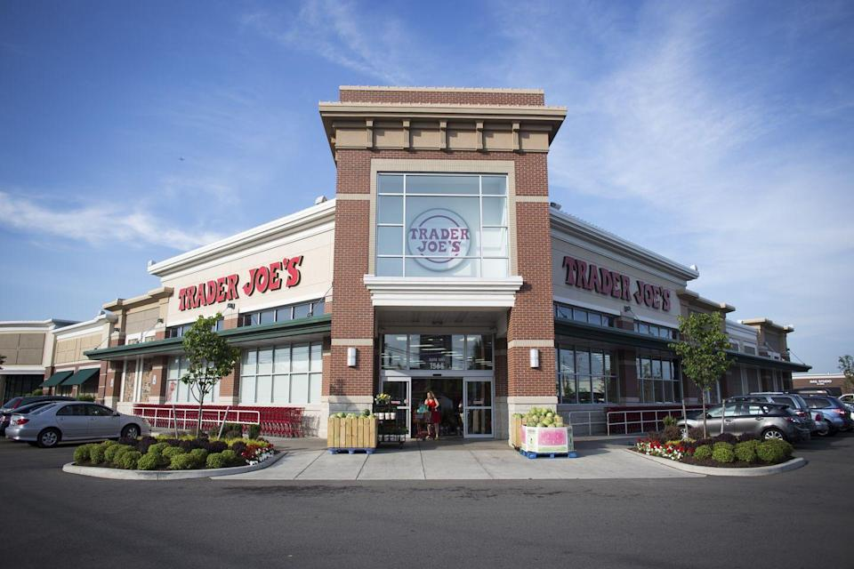 "<p>Although the company promises that none of its products contain GMO's, it's tough to know exactly where the food on shelves is coming from. According to <a href=""https://groundswell.org/the-truth-behind-trader-joes-what-you-may-not-know-about-tjs-brand/"" rel=""nofollow noopener"" target=""_blank"" data-ylk=""slk:Groundswell"" class=""link rapid-noclick-resp"">Groundswell</a>, many Trader Joe's brand items could actually be name-brand products in new packaging (and cost half as much). </p>"