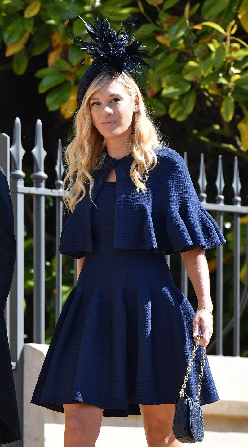 <p>When Chelsy Davy dated Prince Harry, she and his cousin Eugenie became quite close. Despite the couple's eventual breakup, Chelsy and Eugenie have remained friends. Given that she was seen at Harry and Meghan's wedding in May, it's possible she'll be at Eugenie's as well in October.</p>