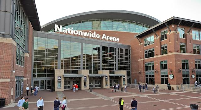 The Columbus Blue Jackets are going to continue playing games with fans in attendance, foregoing the state of Ohio's request. (Getty Images)