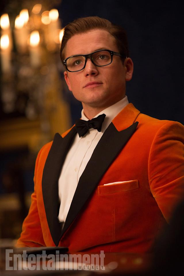 <p>He's back – Taron Egerton returns as everyone's favourite council-estate scruff turned international super spy. He's suited and booted with the latest gear and a suave new suit. But has he got what it takes to stack up against the Statesmen? If nothing else, Taron Egerton is certainly more experienced. </p>
