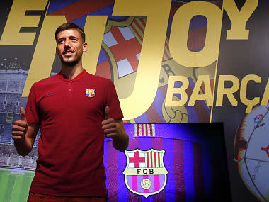 La Liga: French defender Clement Lenglet signs for Barcelona from Sevilla on a five-year deal