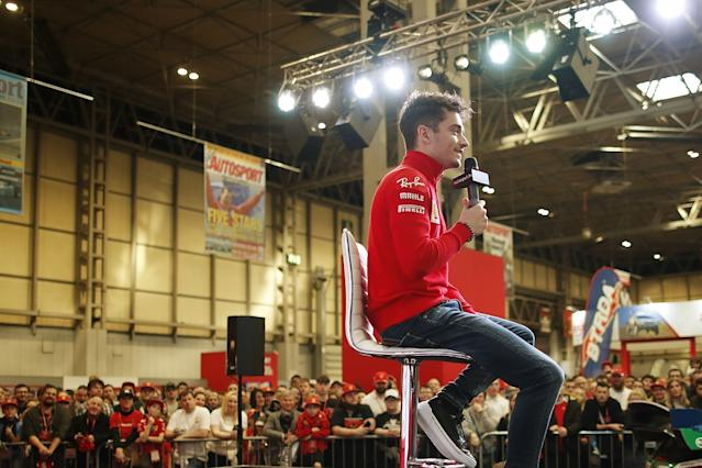 Leclerc: Standing on Monza podium gave me chills