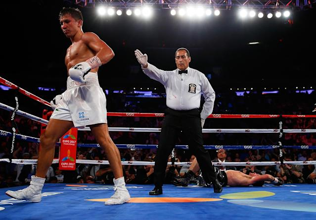 Gennady Golovkin stops Daniel Geale, calls out Miguel Cotto