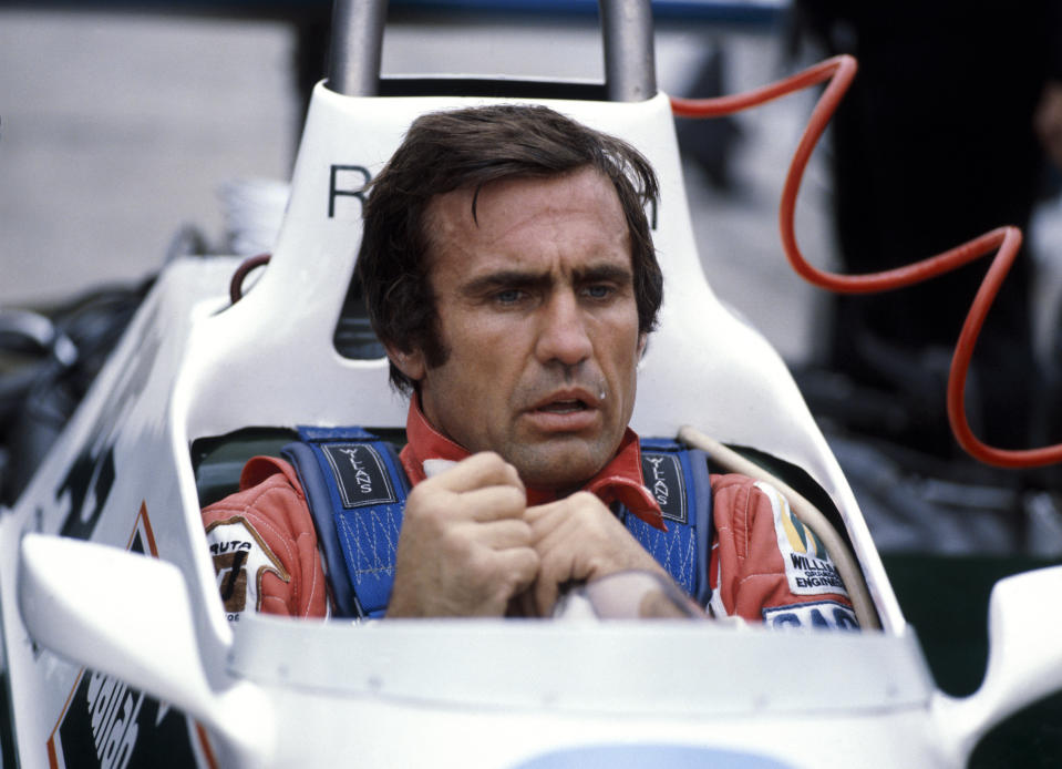 Carlos Reutemann, 1980. In the driving seat of a Williams racing car. He drove for Brabham, Ferrari, Lotus and finally Williams in 1980. (Photo by National Motor Museum/Heritage Images/Getty Images)