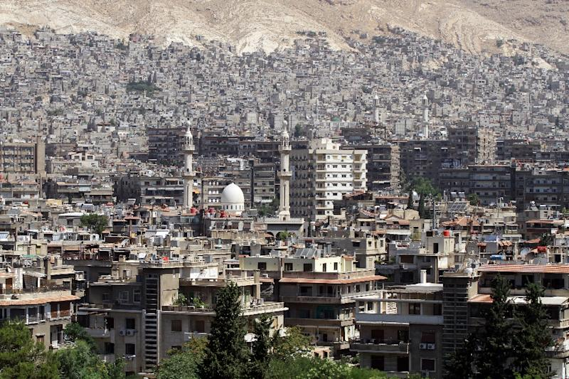 The Islamic State jihadist group is getting closer to the centre of Damascus (AFP Photo/Louai Beshara)