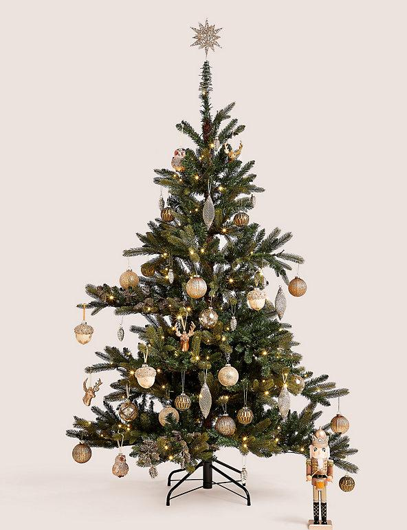 6ft Lit Noble Christmas Tree. (Marks & Spencer)