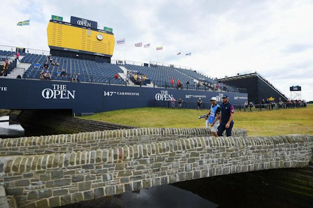 Dustin Johnson leads the field into the 147th Open Championship. (Getty)