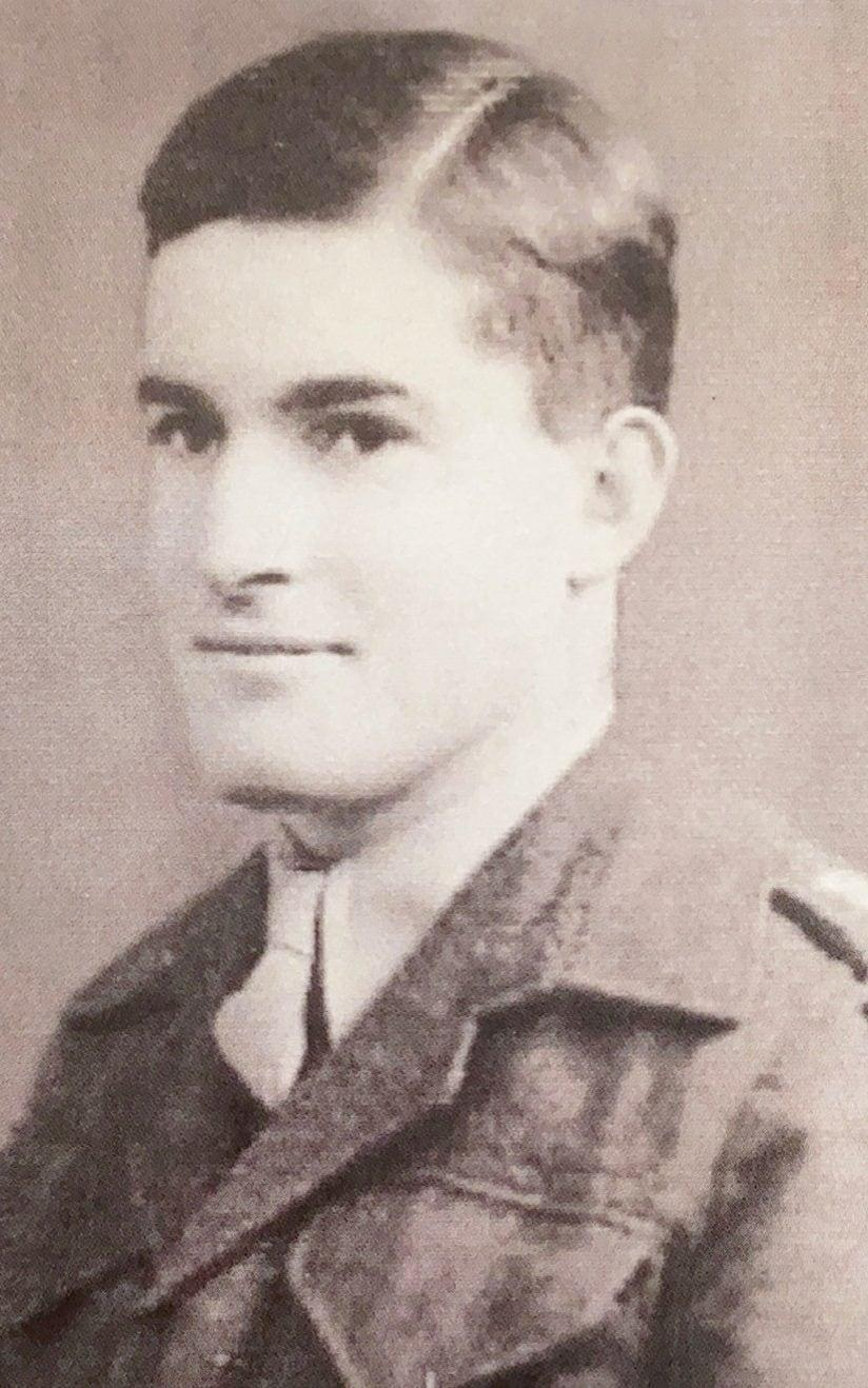 Bashall in his Army days