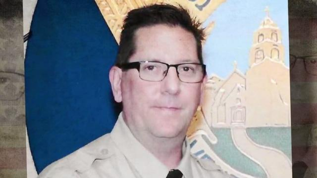 "Law enforcement came out in force Thursday to say goodbye to one of their own. Sheriff's Sgt. Ron Helus was one of the first to respond to a deadly shooting at a California bar last week, and was killed in the line of duty. ""CBS Evening News"" anchor Jeff Glor has more on how he's being remembered."