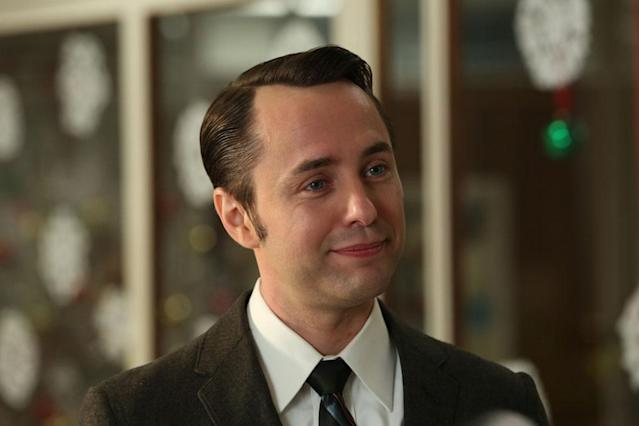 "Pete Campbell (Vincent Kartheiser) in Part 2 of the ""Mad Men"" Season Premiere, ""The Doorway."""