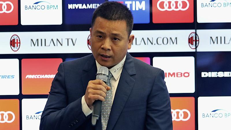 Milan owner Li reaffirms commitment to Serie A giants