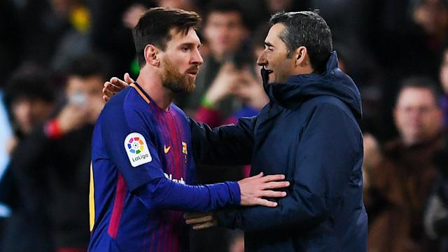 Ernesto Valverde steered Barcelona through choppy waters early in his reign. Big challenges await but a domestic double would be due reward.