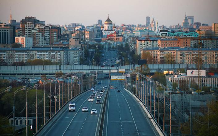 A view of Moscow in lockdown - Valery Sharifulin/TASS