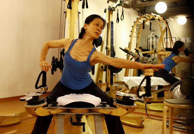 Master Gyrotonic Trainer Young-ah Kim was in Singapore recently to train the instructors at The Moving Body.