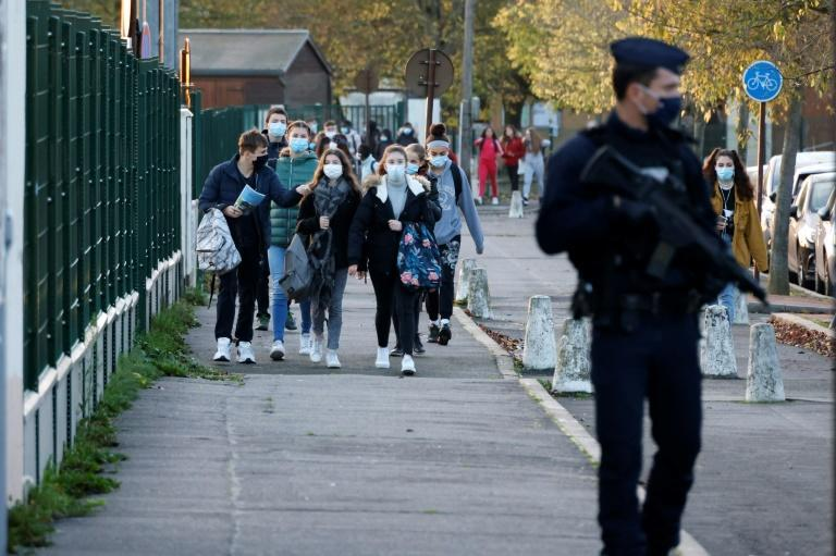Increased numbers of police have been visible on streets in the Paris region since a recent spate of attacks