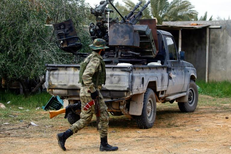 Both sides in Libya's conflict agreed to a ceasefire Sunday to end nine months of fighting, but eastern-based strongman Khalifa Haftar on a Moscow visit refused to sign it