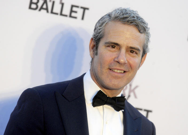 Andy Cohen at The New York City Ballet's 2017 Fall Fashion Gala held on September 28, 2017 in New York City. (NYC)