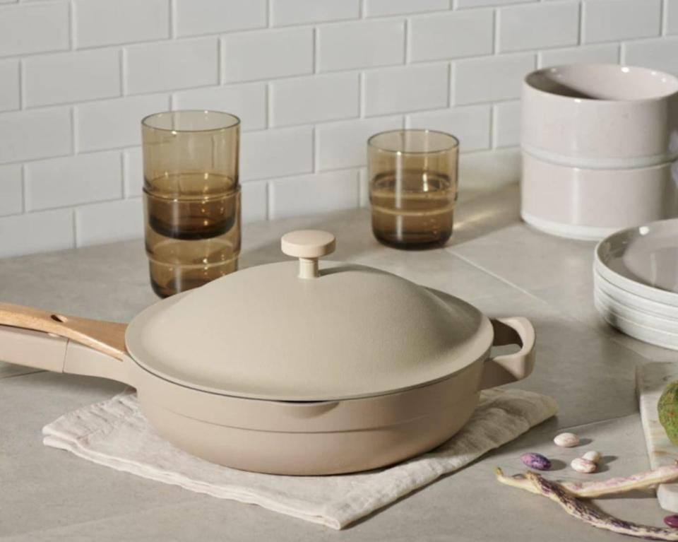 <p>Get this popular <span>Our Place Always Pan</span> ($145) for the person who loves to cook.</p>