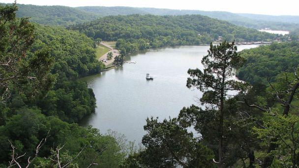 PHOTO: A trail overlooks the Niangua arm of the Lake of the Ozarks in Missouri, June 10, 2007. (Tribune News Service via Getty Images, FILE)