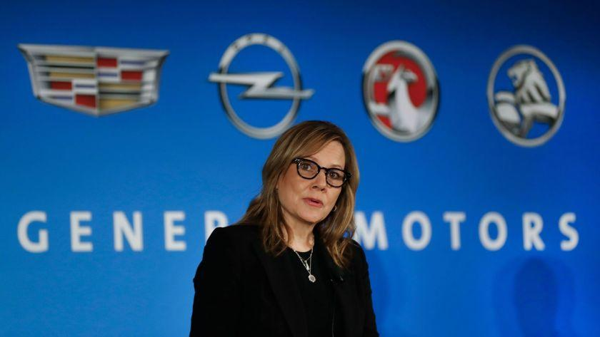 General Motors chief Mary Barra, shown Jan. 10, has said her company has no plans to change where it produces small cars due to threats from President-elect Donald Trump.