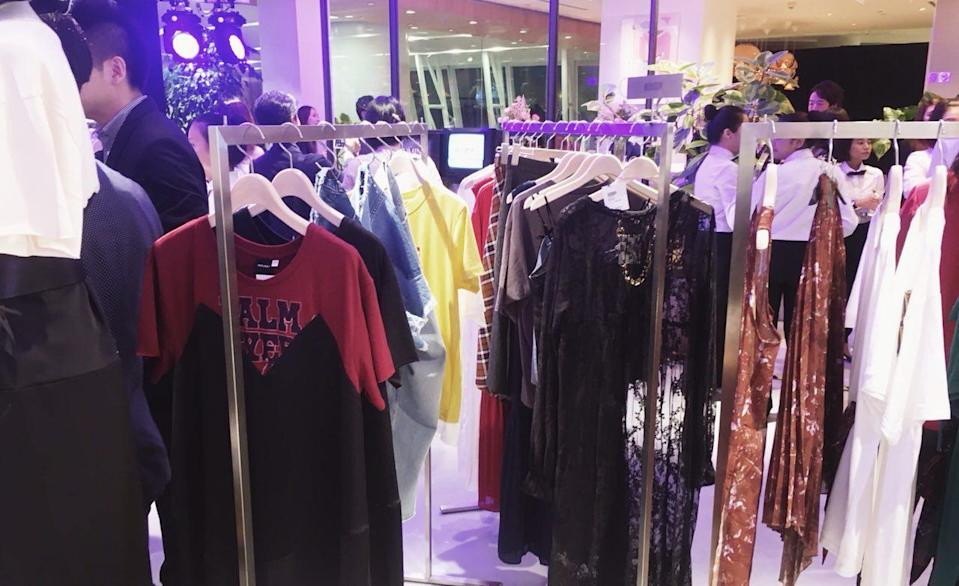 The LUMINE Singapore store is located at Clarke Quay Central. (Photo: Gabriel Choo / Yahoo Lifestyle Singapore)