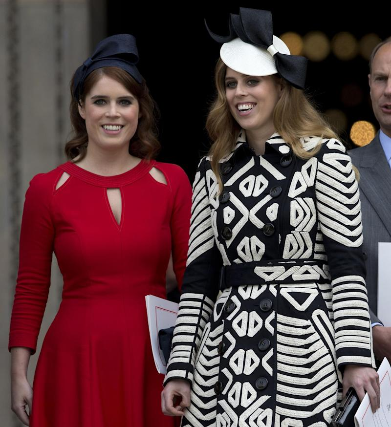 Princess Eugenie and Princess Beatrice (Getty Images)