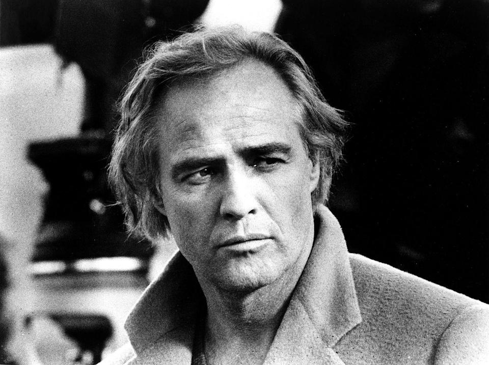 """<p><a href=""""https://www.esquire.com/entertainment/g32252167/marlon-brando-life-in-photos/"""" rel=""""nofollow noopener"""" target=""""_blank"""" data-ylk=""""slk:Marlon Brando"""" class=""""link rapid-noclick-resp"""">Marlon Brando</a> established his career in the '50s and '60s, so by the '70s he was already one of Hollywood's most iconic actors. But in 1973 he garnered even more attention when he <a href=""""https://www.youtube.com/watch?v=2QUacU0I4yU"""" rel=""""nofollow noopener"""" target=""""_blank"""" data-ylk=""""slk:refused his Academy Award for Best Actor"""" class=""""link rapid-noclick-resp"""">refused his Academy Award for Best Actor</a> in protest.</p>"""