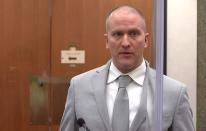 Former Minneapolis police officer Derek Chauvin is sentenced after being found guilty of the murder of George Floyd