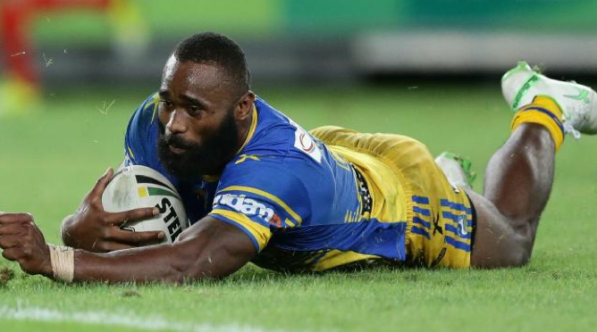The Parramatta Eels star had been in Fiji but is expected to return to Australia on Thursday. Photo: Getty