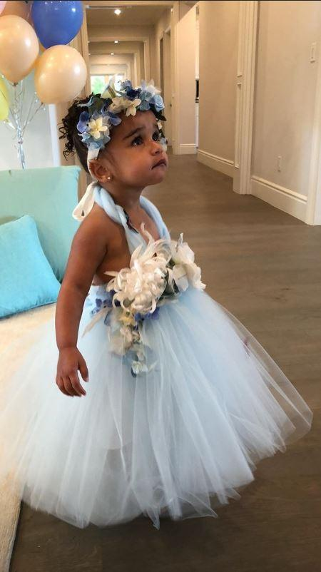 Adorable: Dream celebrated her birthday in style (Khloe Kardashian Instagram)
