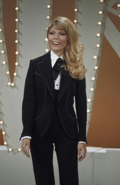 """<div class=""""caption-credit""""> Photo by: NBC/NBCU Photo Bank via Getty Images</div><b>On """"The Dean Martin Show""""</b> <br> Before Janelle Monáe was Nancy Sinatra. This fitted suit is awesome, especially juxtaposed with her bouncy curls. <br>"""