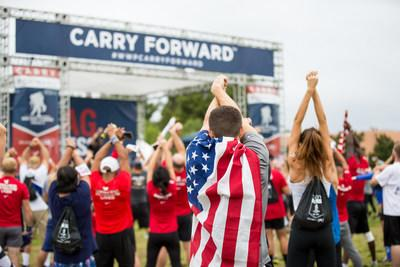 Celebrities are supporting wounded veterans and their families by sharing on social media their preparation for and participation in the Wounded Warrior Project® (WWP) Carry Forward® 5K, delivered by CSX®.