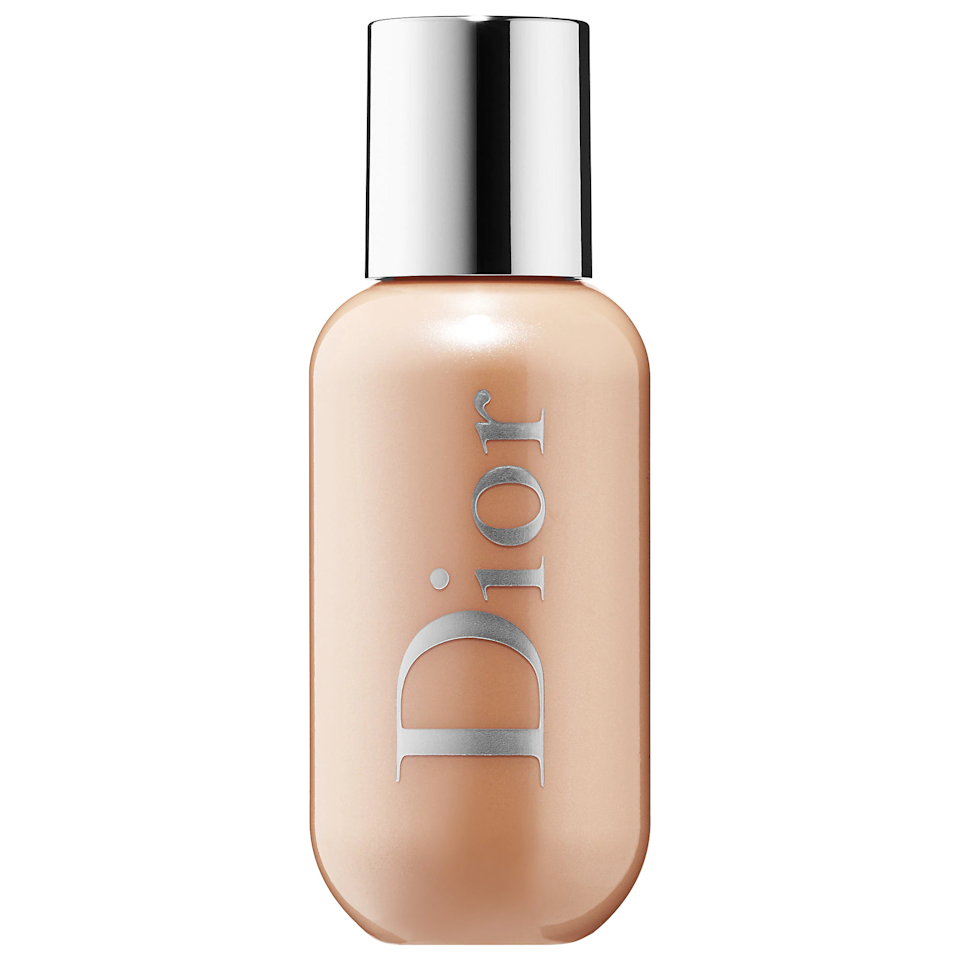 """<p><a href=""""https://www.allure.com/story/dior-backstage-makeup-collection-launch?mbid=synd_yahoo_rss"""">Dior's Backstage collection</a> has launched several makeup products that can be used on both face and body, the latest being this liquid highlighter. Created in a universally luminizing golden shade, it blurs, diffuses, and makes skin look brilliant without any obvious shimmer or glitter. In fact, even when you build upon it as you see fit, you'll never look overly sparkly — just gorgeously glowy.</p> <p><strong>$38</strong> (<a href=""""https://shop-links.co/1685259113345693694"""" rel=""""nofollow"""">Shop Now</a>)</p>"""