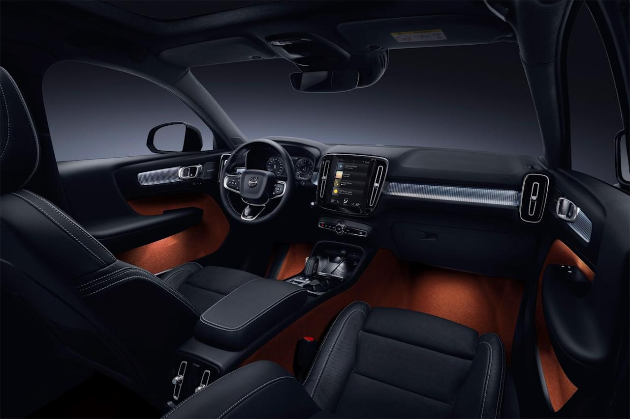 "<p>The interior is surprisingly spacious and unique in appearance, another reason the Volvo XC40 stands out among its peers. There is a Swedish sense of cool at play here, along with sensible functionality (<a rel=""nofollow"" href=""https://www.caranddriver.com/features/g19720019/eight-ways-the-volvo-xc40-suv-is-more-practical-than-its-size-suggests/"">tons of storage cubbies and versatility baked in</a>!), both of which make it a pleasant daily driver. The optional Sensus touchscreen display looks slick, although it's not always as responsive to the touch as we would like.</p>"