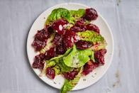 "Use any whole spices you like for this beets recipe; just make sure you sizzle them in oil first to bring out their flavor. <a href=""https://www.epicurious.com/recipes/food/views/spiced-marinated-beets?mbid=synd_yahoo_rss"" rel=""nofollow noopener"" target=""_blank"" data-ylk=""slk:See recipe."" class=""link rapid-noclick-resp"">See recipe.</a>"