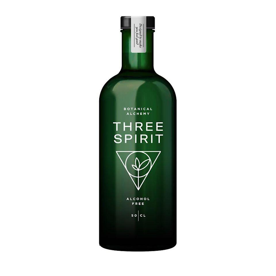 "<p>Plant Based Botanical Spirit, £24.99</p><p><a class=""link rapid-noclick-resp"" href=""https://www.thefoodmarket.com/products/non-alcoholic-three-spirit-plant-based-botanical-spirit-50cl?gclid=Cj0KCQiAk7TuBRDQARIsAMRrfUbJNYSUCk8e0Rxa0hO2eViiyq48DdqE3Q8oeOgeEVYuEhsnG4tinrUaAjQKEALw_wcB"" rel=""nofollow noopener"" target=""_blank"" data-ylk=""slk:BUY NOW"">BUY NOW</a></p>"