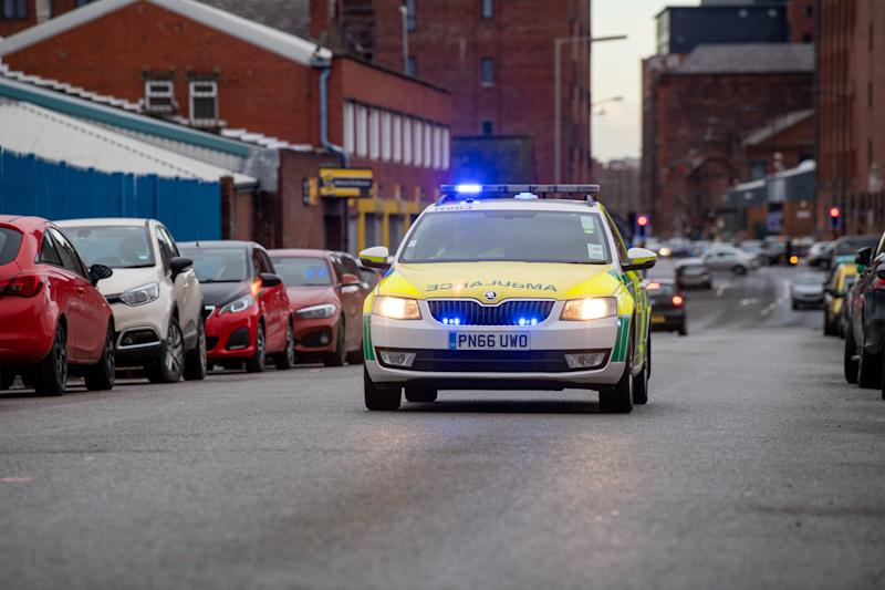 HuffPost UK spends a 12-hour shift attending to emergencies with North West Ambulance Service's rapid response vehicle in Liverpool (Photo: Ian Robinson)