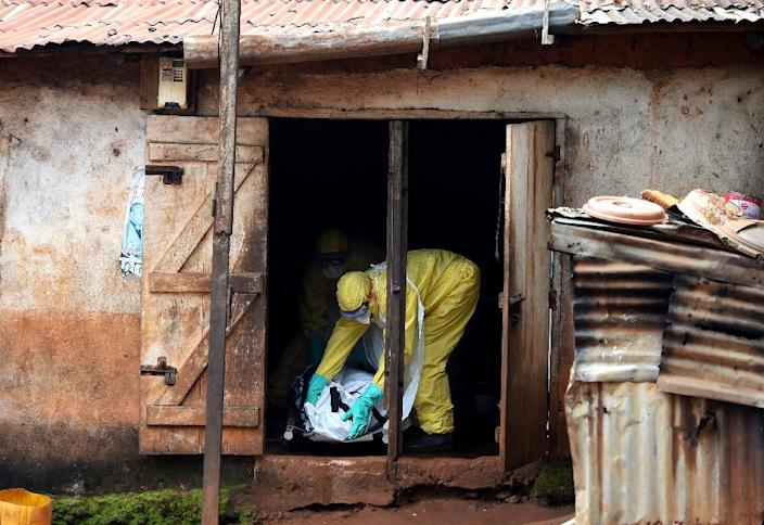 """Amid a decline in a west African outbreak of Ebola that has taken over 11,000 lives, Congolese expert Jean-Jacques Muyembe warns Ebola will strike again in the future and the deadly virus poses """"a threat to the whole world"""" (AFP Photo/Francisco Leong)"""