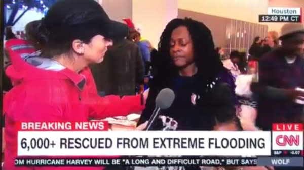 Harvey Survivor Criticizes Media For Lack Of Empathy In Heartbreaking TV Interview